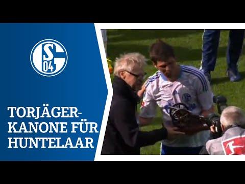 Kanone und Rekorde für Klaas-Jan Huntelaar