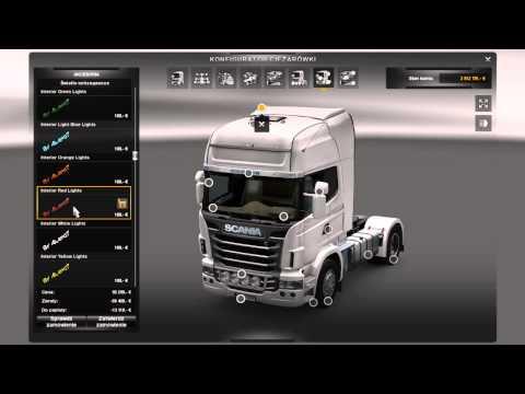 скачать мод на свет в кабине для Euro Truck Simulator 2 - фото 11