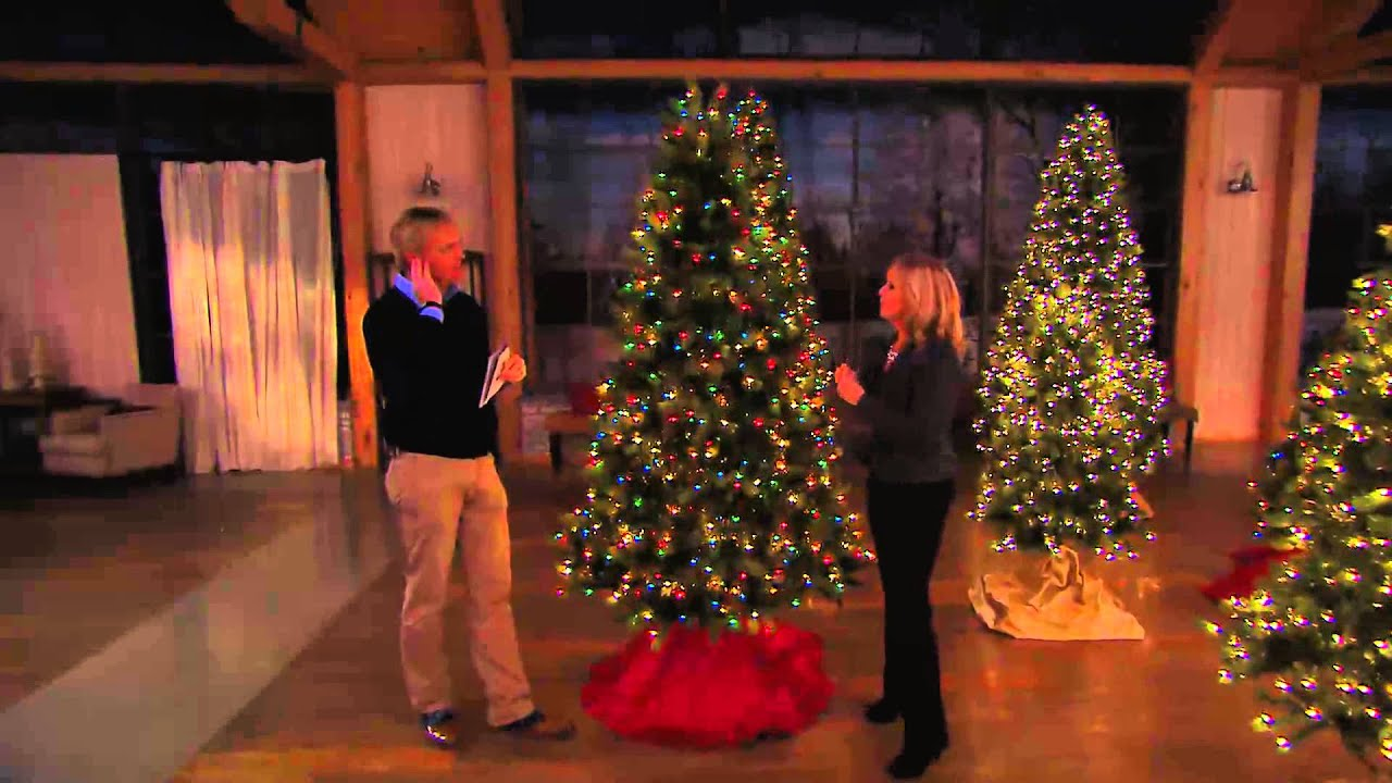 bethlehem lighting. Bethlehem Lights 9\u0027 Virginia Pine Christmas Tree W/Instant Power With Rick Domeier - YouTube Lighting