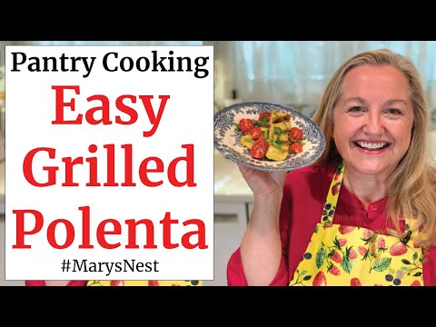 polenta-recipe---how-to-make-grilled-polenta-with-tomato-sauce-or-fresh-tomatoes