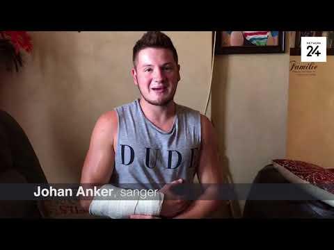 Sanger Johan Anker dankbaar vir ondersteuning ná motorongeluk