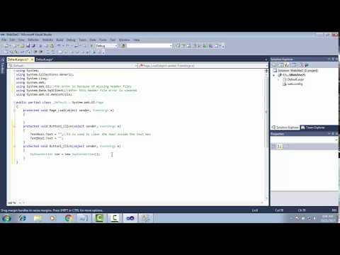 INSERT DATA INTO SQL USING ASP.NET WEBAPPLICATION