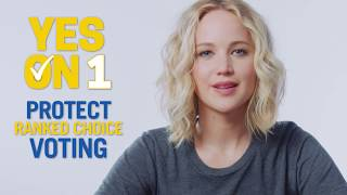 Jennifer Lawrence: Yes on Question 1 - Protect Rank Choice Voting in Maine