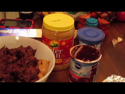 Easy Microwave Chocolate & Peanut Butter Fudge