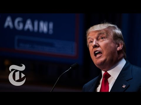 Donald Trump Changes Tone on Immigration | The New York Times