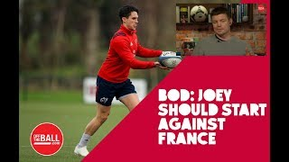 Brian O'Driscoll on Carbery's growing presence and Ireland's Six Nation's squad