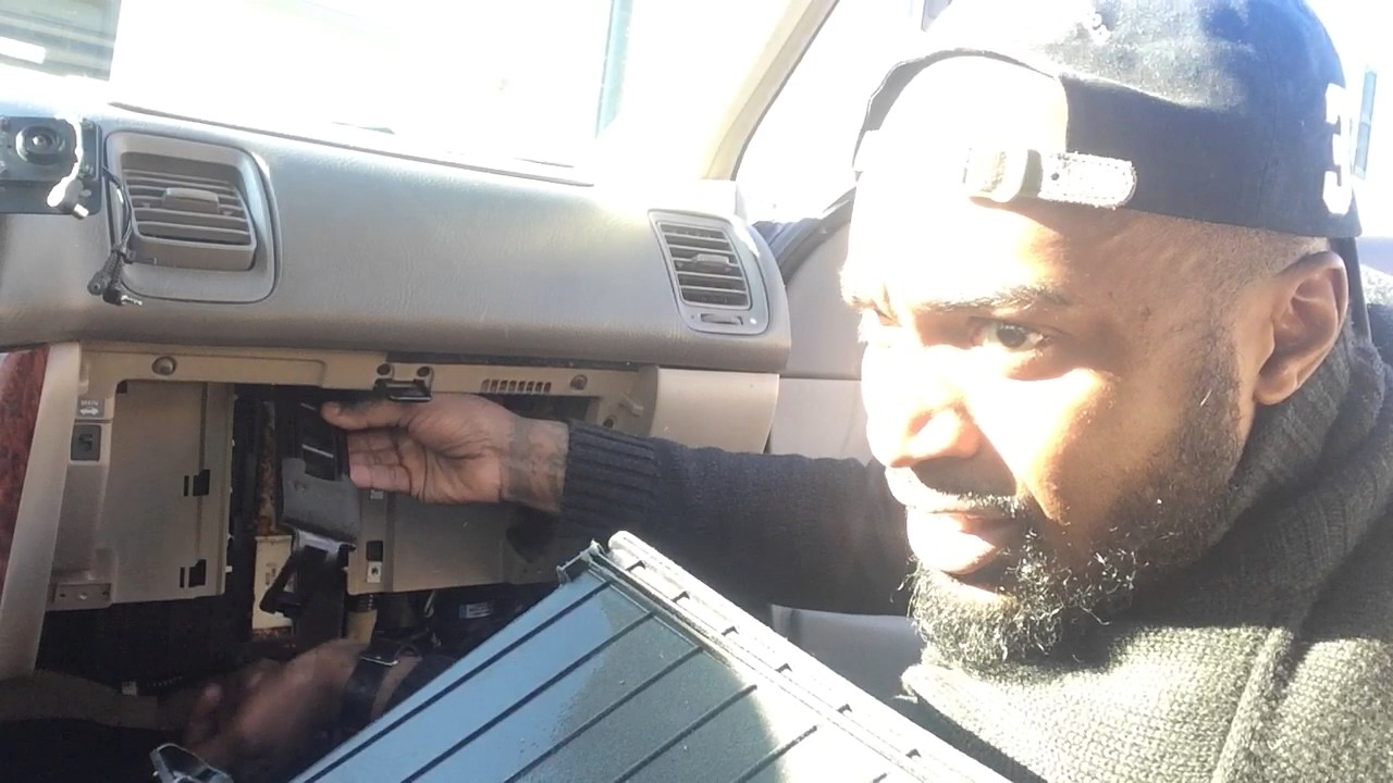 Acura tl 2003 cabin air filter rep part 1 - YouTube