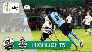 SV Sandhausen - Borussia Mönchengladbach 0:1 | Highlights - DFB-Pokal 2019/20 | 1. Runde