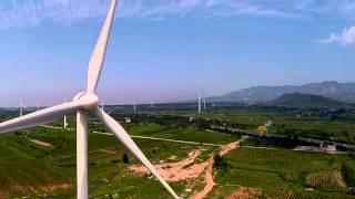 Wind Turbine farm , China '15