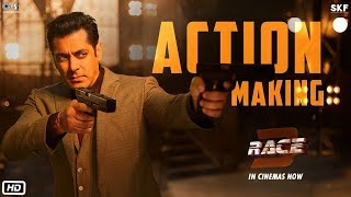 Race 3 | Action Making | Salman Khan | Remo D'Souza