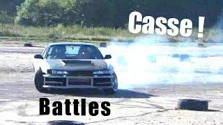 Battles de drift avec ma S14 ! Part 1/2