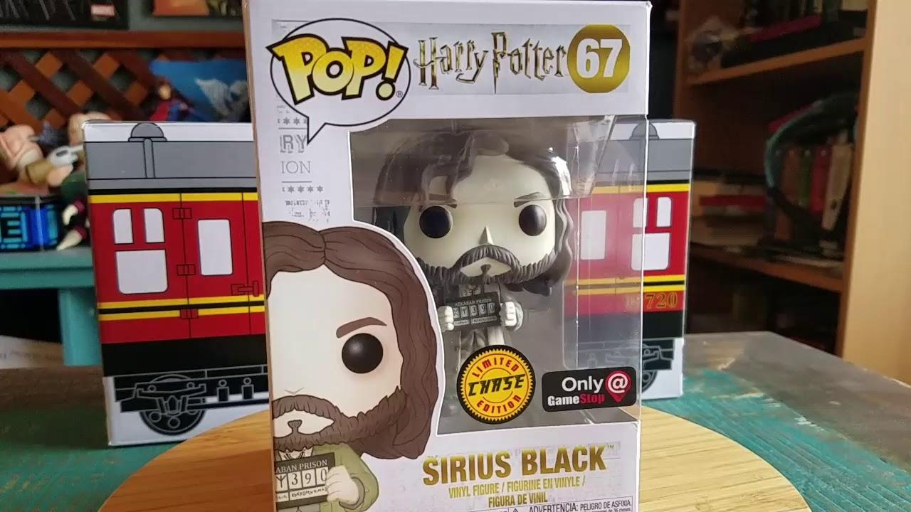 Figura Funko POP SIRIUS BLACK 67 Harry Potter Exclusive ONLY GameStop