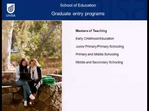 Careers in Education - Open Day 2011 - University of South Australia