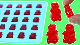 How to Make Jello GUMMY BEARS!