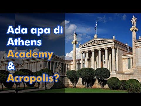 Yunani Part# 3 Atens Academy & Acropolis