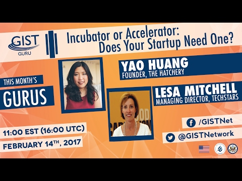GIST GURU : Incubator or Accelerator: Does Your Startup Need One?