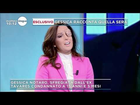 GESSICA NOTARO RINGRAZIA IL DOTT. LUCA CAPPUCCINI A MATTINO 5