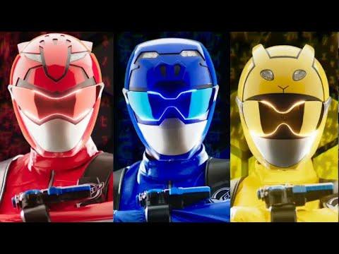 Лучшие сериалы. Могучие Рейнджеры. Звероморферы: Робот с Кибер Измерения! Супергерои в онлайн фильме
