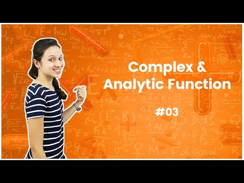 Complex Function & Analytic Function - Complex Analysis - GATE Engineering Mathematics