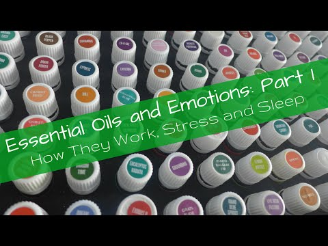 Essential Oils and Emotions: Stress and Sleep