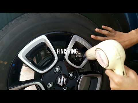 Suzuki Ignis : Rims decal installation ( pemasangan decal pelek Ignis)