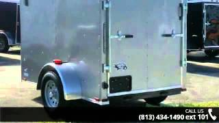 Cargo Trailer for SALE!  NEW PEWTER 5x8 ENCLOSED Trailers...