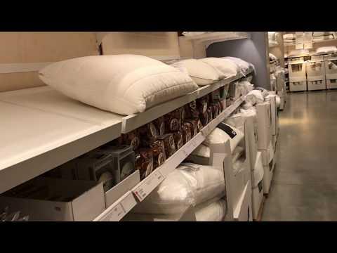 ИКЕА самая удобная подушка с эффектом памяти