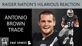 Antonio Brown Trade Reaction From Raider Nation & Mailbag Questions On Le'Veon Bell And Free Agency