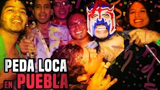 Escorpión suelto en Puebla con Borrachos y Vi...