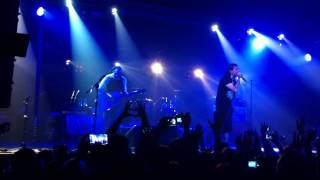 The Used - On My Own + Maybe Memories (Live In Moscow 22.11.12@Milk Club)
