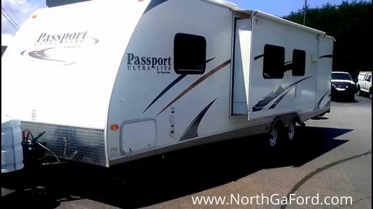 Ultra Lite Travel Trailers >> 2009 Keystone RV Passport 300BH - YouTube