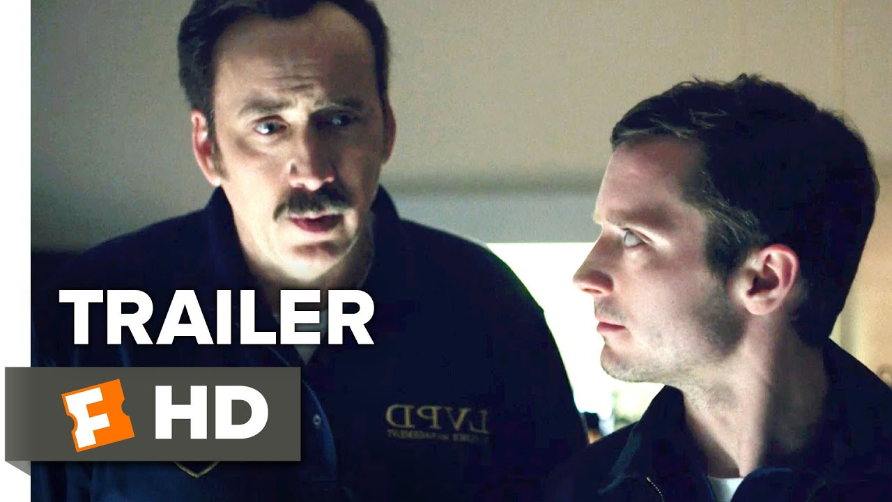 The Trust Official Trailer #1 (2016) - Elijah Wood, Nicolas Cage ...