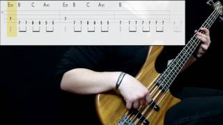 Sublime - Date Rape (Bass Cover) (Play Along Tabs In Video)