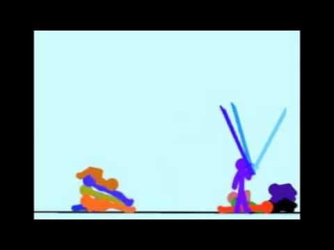 The Kung-Fu Purple Stickman