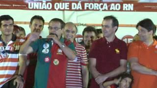 HENRIQUE ALVES EM PAU DOS FERROS 27/09/2014