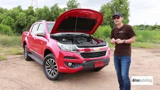 [Test Drive] 2017 Chevrolet Colorado 2.5L : เครื่องแรง ช่วงล่างนุ่ม ห้องโดยสารเงียบ ไฮเทคนำเทรนด์
