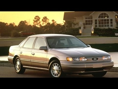 1995 Ford Taurus Start Up And Review 3.0 L V6