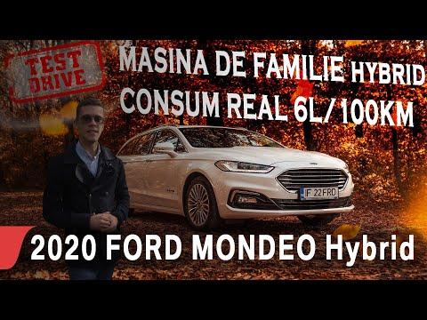 2020 FORD MONDEO WAGON (BREAK) HYBRID CVT TITANIUM   car review eblogAUTO
