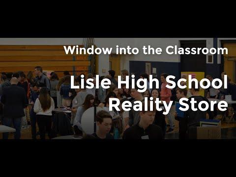 Lisle High School Reality Store