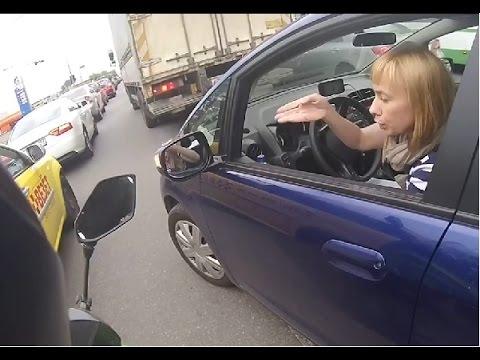 Russian women driving  part 4