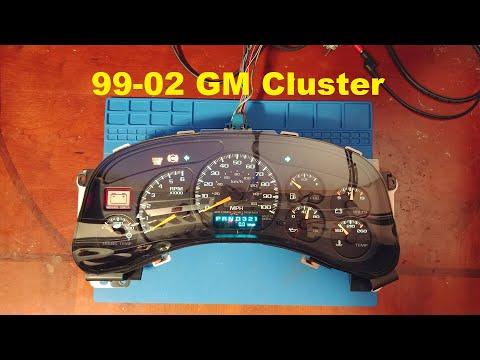 99 to 02 GM Cluster Repair