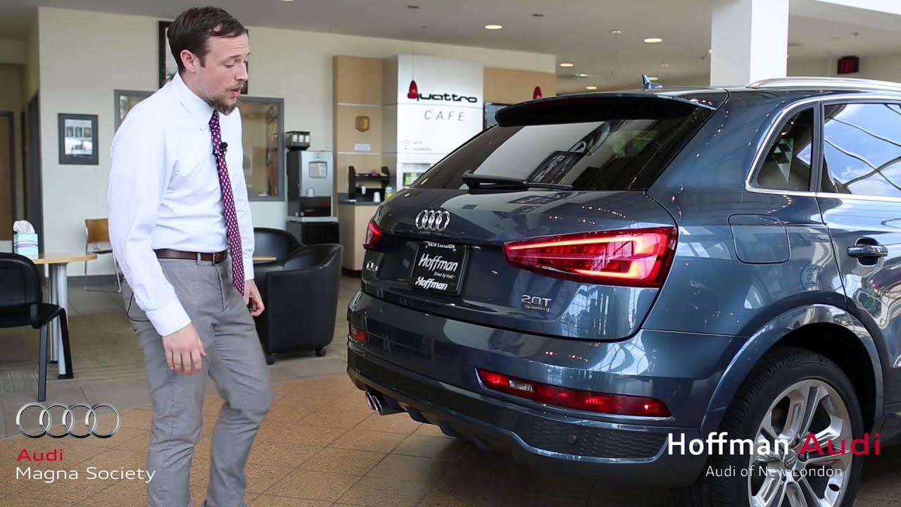 Audi Q Walk Around At Hoffman Audi Of New London YouTube - Audi new london