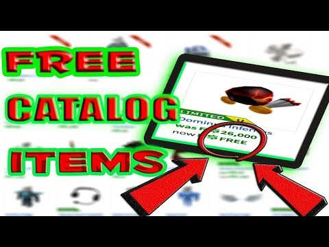 How To Get Free Catalog Items On Roblox Working 2019 Only - wd gaster shirt id roblox