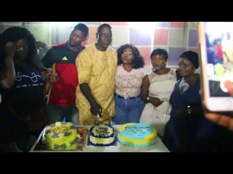 Nollywood Actor Taiwo Hassan (Ogogo) Celebrates Birthday With A Street Party For Fans And Associates