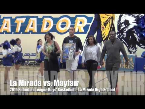 High School Basketball: La Mirada vs. Mayfair