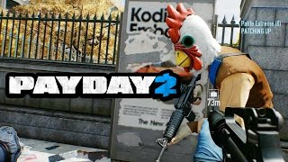 PAYDAY 2 - Os Piores Ladrões do Mundo! Com Patife!!! (PC Gameplay)