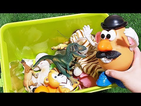 TOY STORY Mr Potato Head assemble! Animals Toys Baby find Mom Learning Video Part14