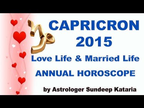 CAPRICORN MAY 2015 - Astrology Forecast - Barbara Goldsmith from YouTube · Duration:  8 minutes 13 seconds