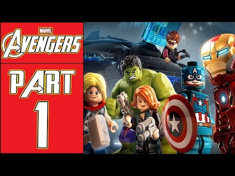 """LEGO Marvel's Avengers - Let's Play - Part 1 - [Struck Off The List] - """"Epic Tag Teams"""""""