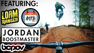 THE CANADIAN INVASION PT 1 | Riding with The Loam Ranger, Jordan Boostmaster and Daily MTB Rider